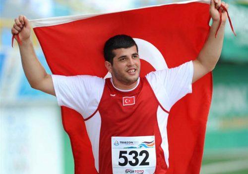 Özkan Baltacı, çekiç atmada finalde