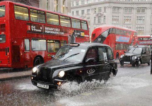 İngiltere'de sel uyarısı