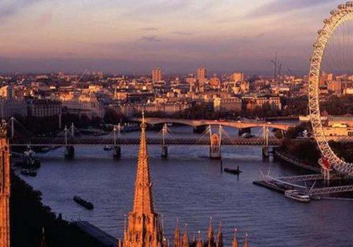 Kara para aklamada merkez Londra