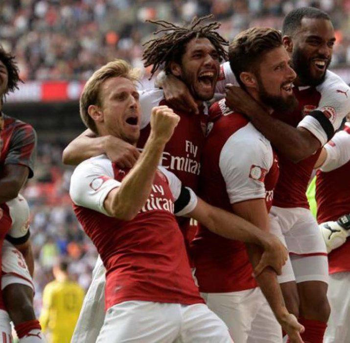 Community Shield Arsenal'ın: 4-1