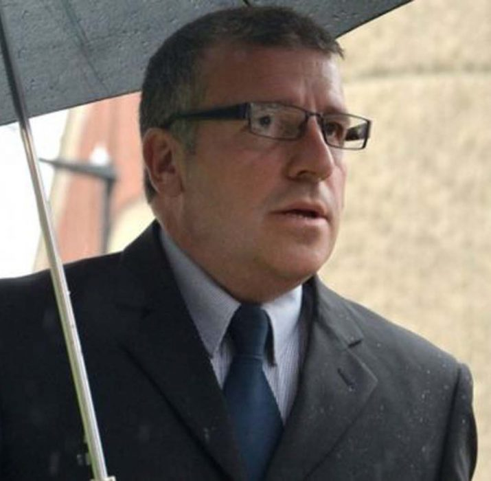 Helicopter sex film officer Adrian Pogmore jailed