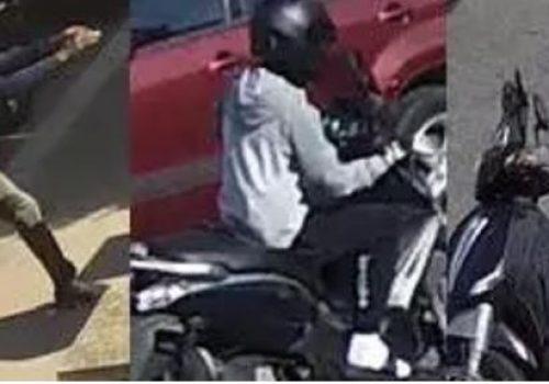 Londra'da motosikletli kapkaç çetesi yaşlı kadına saldırdı (VIDEO)