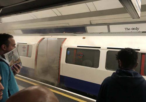 Oxford Street Metro İstasyonu'nda yangın alarmı
