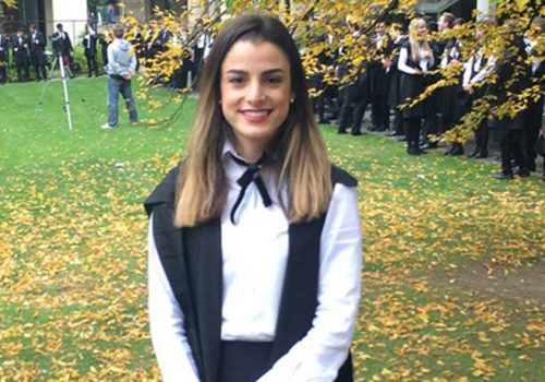 Turkish Cypriot Sıla is a winner at Oxford University