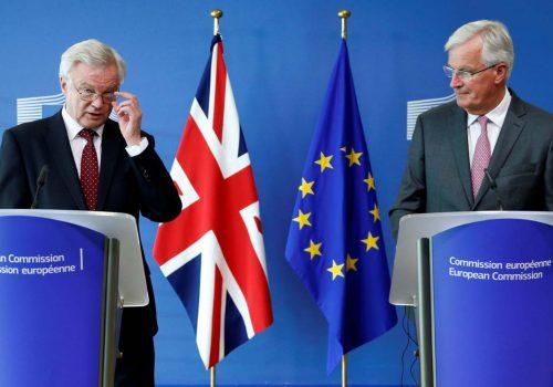 EU's Brexit chief Michel Barnier: UK must start negotiating seriously