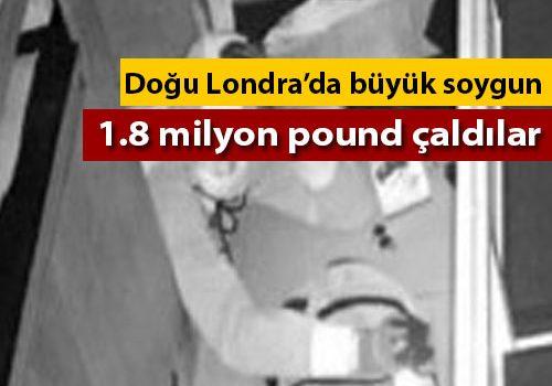 Londra'da kuyumcu soygunu: 1.8 milyon pound çaldılar (VIDEO)