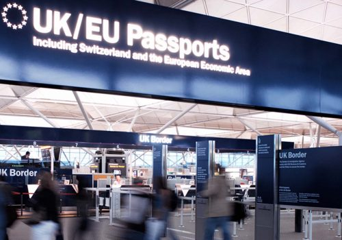 Landing cards for non-EU travellers to be scrapped