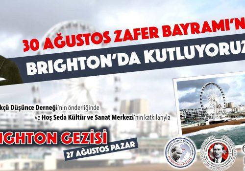 30 Ağustos Zafer Bayramı Brighton'da kutlanacak