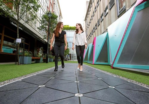 The future of shopping: London's first sustainable smart street opens