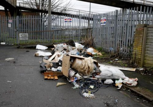 Enfield Council is urging people not to pay flytippers to take rubbish away