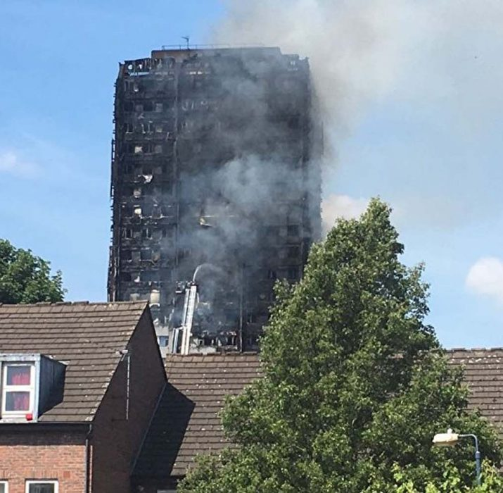 Grenfell Tower to be covered in protective wrapping