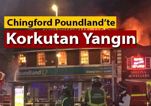 Chingford Poundland'te çıkan yangın korkuttu (VIDEO)