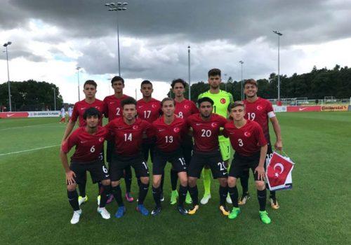 U17 Milli Futbol Takımı, İngiltere'ye 3-2 yenildi