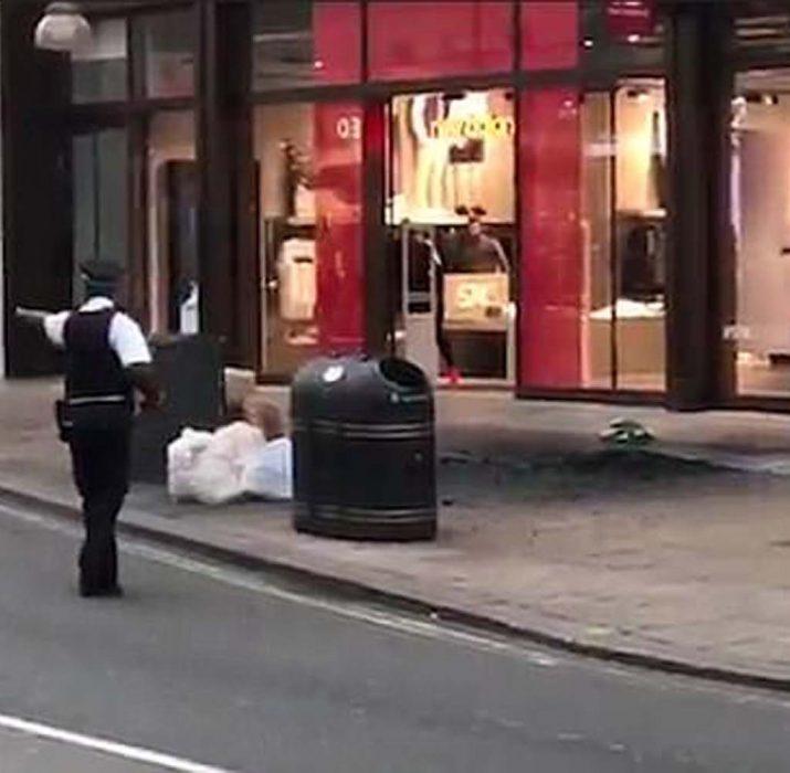 Londra'da elektrik trafosu patladı: 1 kişi yaralandı