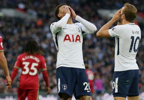 Tottenham'ın baskısı galibiyete yetmedi