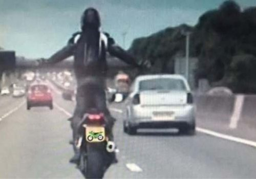 Pawel Zietowski jailed for M6 selfie and wheelies