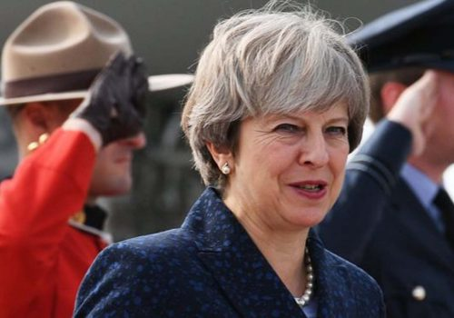 Theresa May 'driving from front' on Brexit after Boris Johnson row