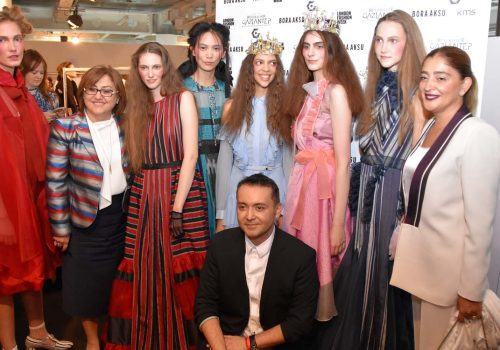 "Bora Aksu engendered ""palace fabric"" at London Fashion Week"