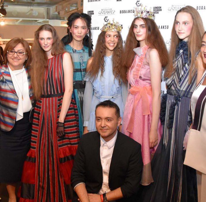 "Bora Aksu engendered ""palace fabric"" at London Fashion Week"