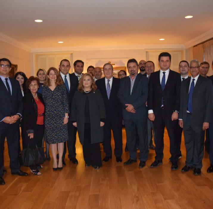 Turkish Consul General hosts TBCCI members