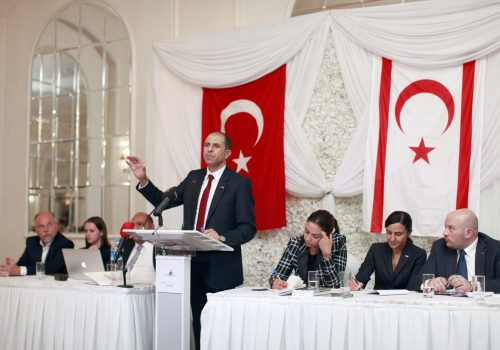 """""""The People's Party"""" met with Turkish Cypriots in London"""