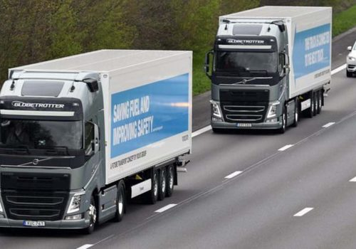 The UK is about to start testing self-driving truck platoons