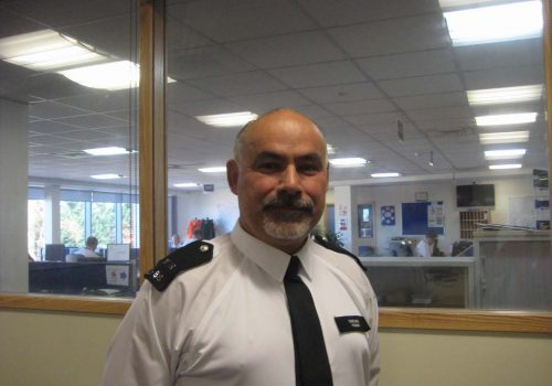 Tottenham Metropolitan Police officer using Twitter to connect with Turkish community