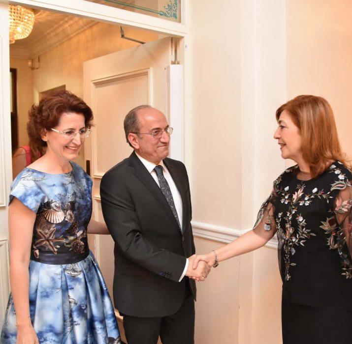 Eid dinner was held at Northern Cyprus London representation