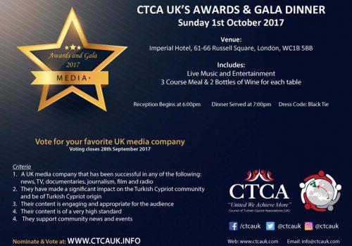CTCA organises awards and gala ceremony
