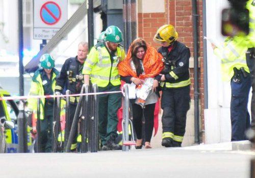 Londra'daki patlamada 22 kişi yaralandı