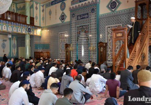 Kurban Bayramında camiler doldu