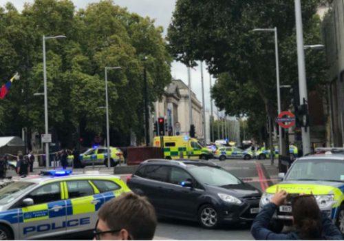 Müze yakınlarındaki olayın trafik kazası olduğu açıklandı