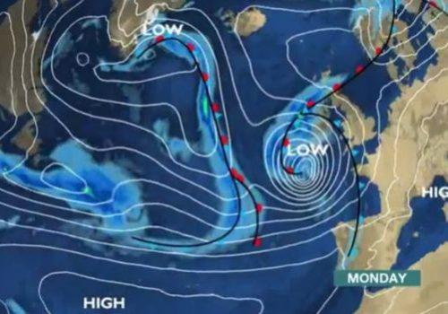 Birleşik Krallığı hafta sonu Ophelia Kasırgası vuracak