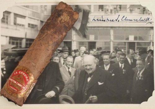 Churchill'in purosunun izmariti 12 bin dolara satıldı