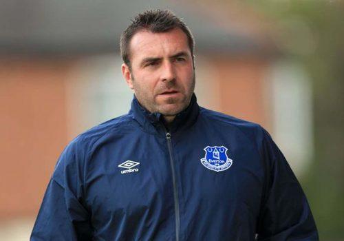 Everton'da Unsworth, geçici Teknik Direktörlüğe getirildi
