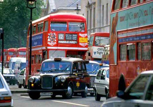 Londra'nın merkezine gitmek 21 sterlin