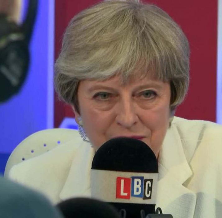 Theresa May admits 'we don't know' impact of no-deal Brexit on EU citizens