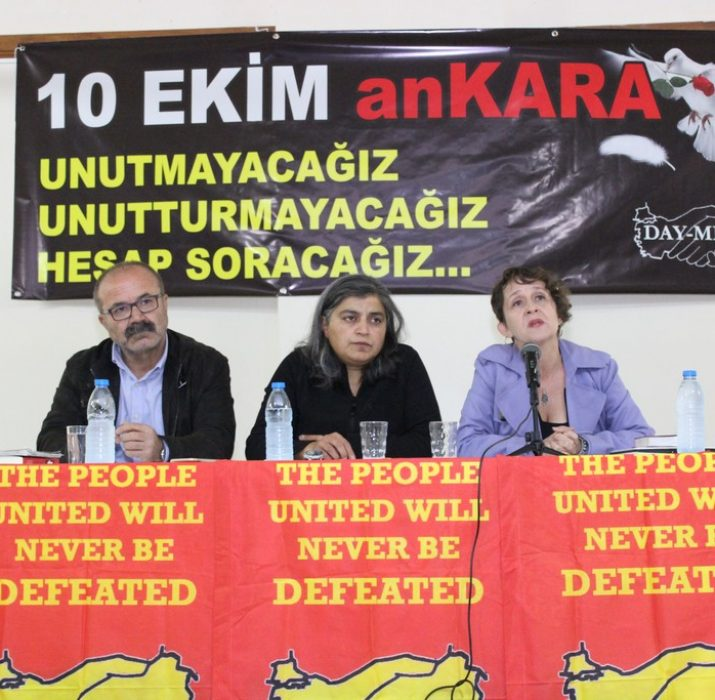 """Day-Mer'de """"Ankara Katliamı ve Dava Süreci"""" toplantısı"""