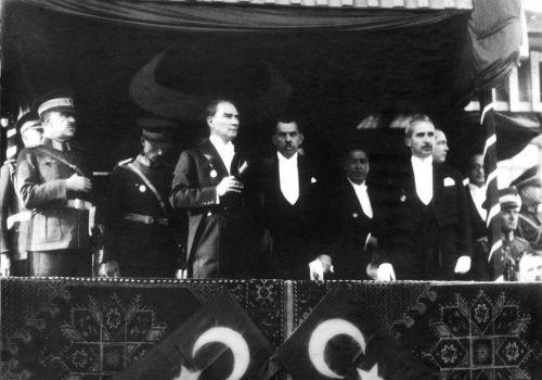Tuncay Özkan and Ümit Zileli in London for Turkish Republic Ball