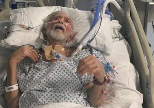 Ahmed, who has been robbed, fighting for his life