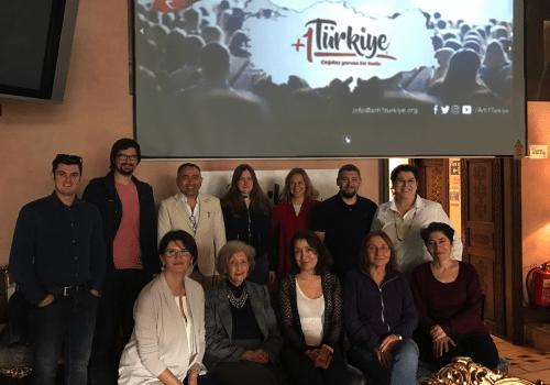 +1 Super Volunteers of Turkey came together