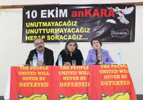 Ankara massacre and trial period
