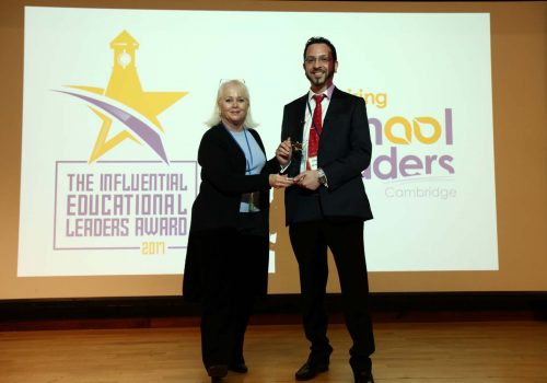 Turkish Cypriot teacher awarded by Cambridge University