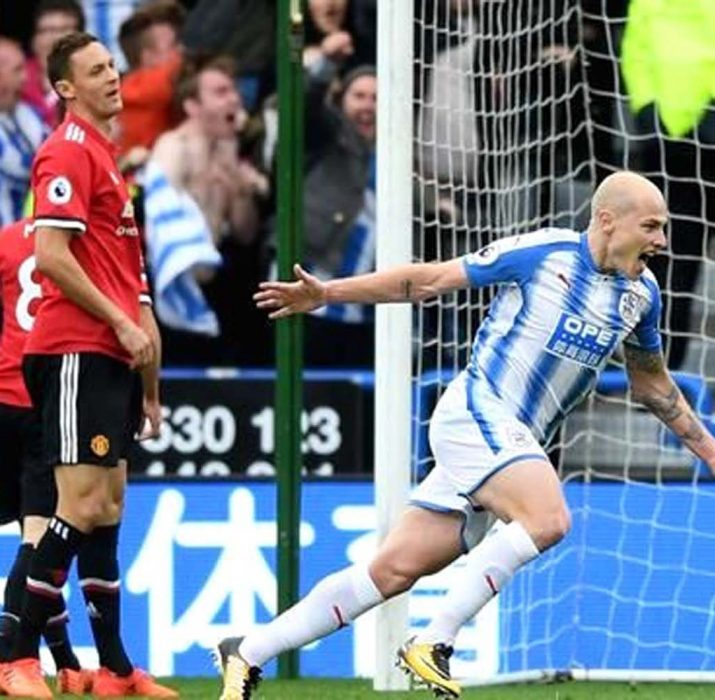 Manchester United fırtınasına Huddersfield molası