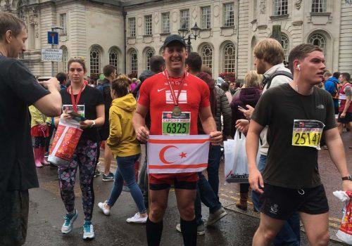 Cardiff Yarı Maratonu'nda Kıbrıslı bir Türk