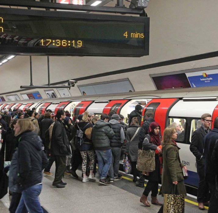 Pickpocketing doubles in one year on London tube