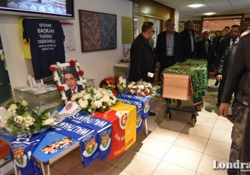 Turgut Esendağlı son yolculuğuna uğurlandı (Videolu haber)