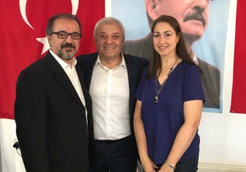 CHP İngiltere Birliği Özkan'ı ağırladı