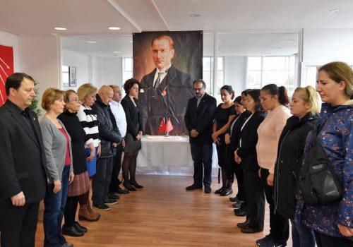 Londoners didn't forget Atatürk