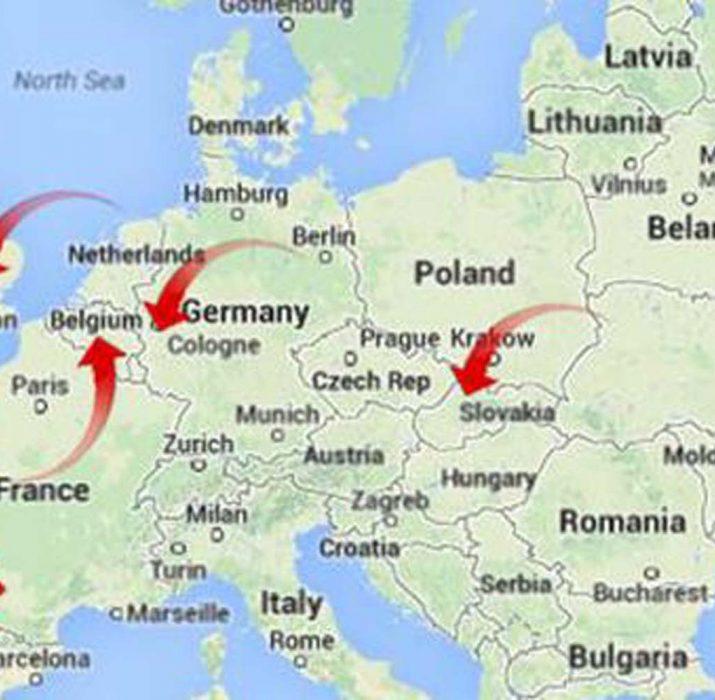 Avrupa'yı taksiyle gezdi, 18 bin Euro borcunu ödemeden kaçtı!